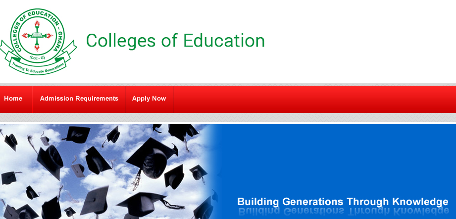 Entry Requirements For Colleges Of Education