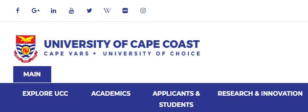 University of Cape Coast Admission Requirement